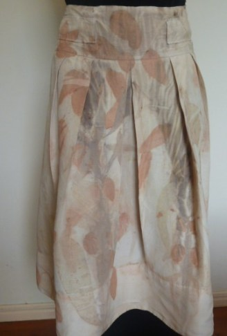 front of skirt