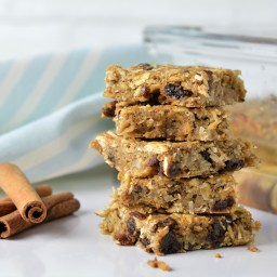 Apple Cinnamon Breakfast Bars (AIP,Paleo)