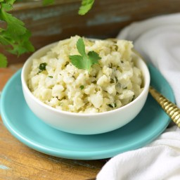 Coconut Cauli Rice Pilaf