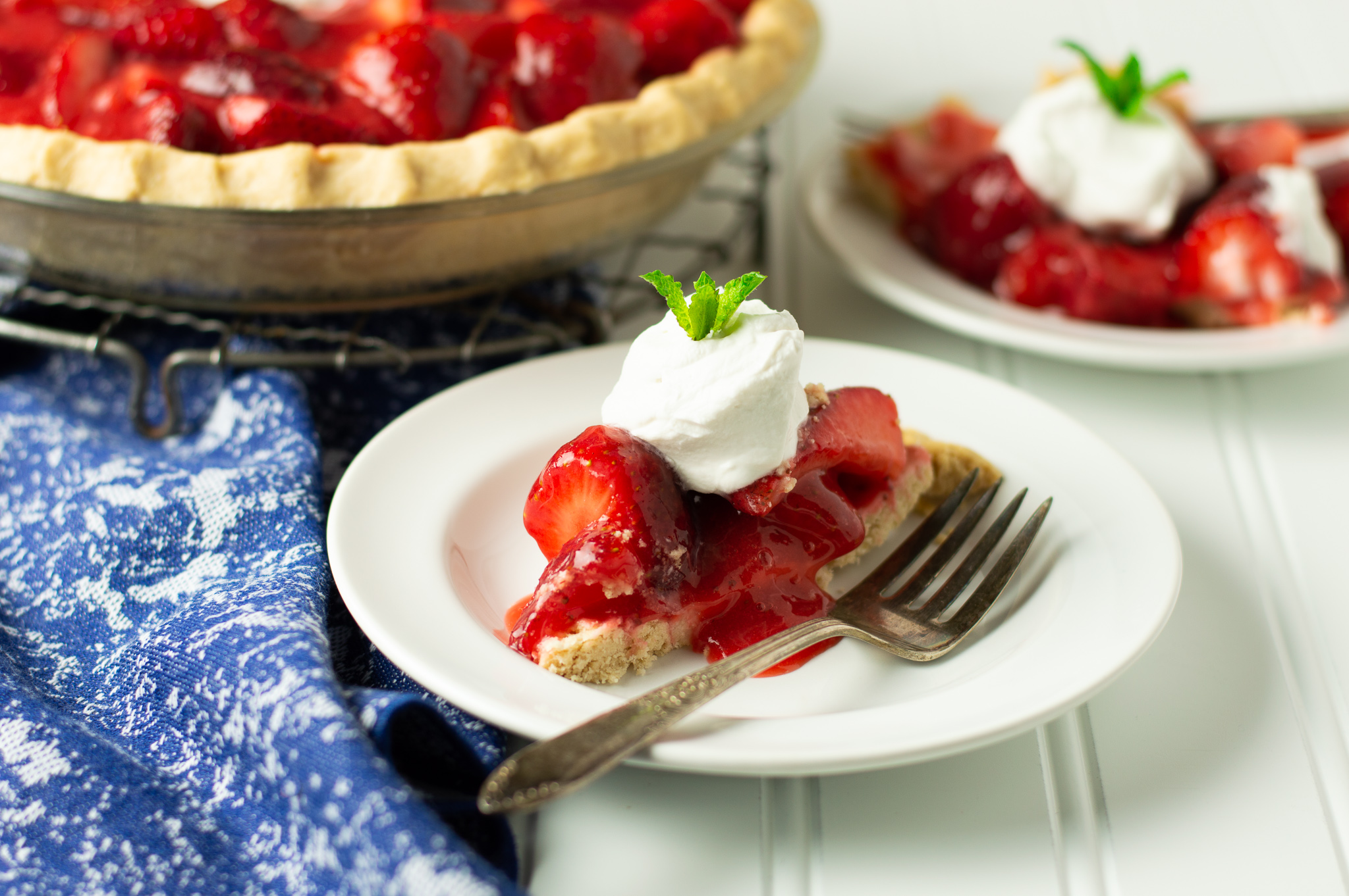 Strawberry Pie (AIP, Paleo)