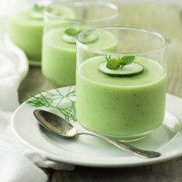 Cold Cucumber Soup (AIP, Paleo)