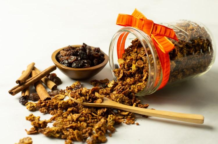 Pumpkin Spice Granola (AIP/Paleo)