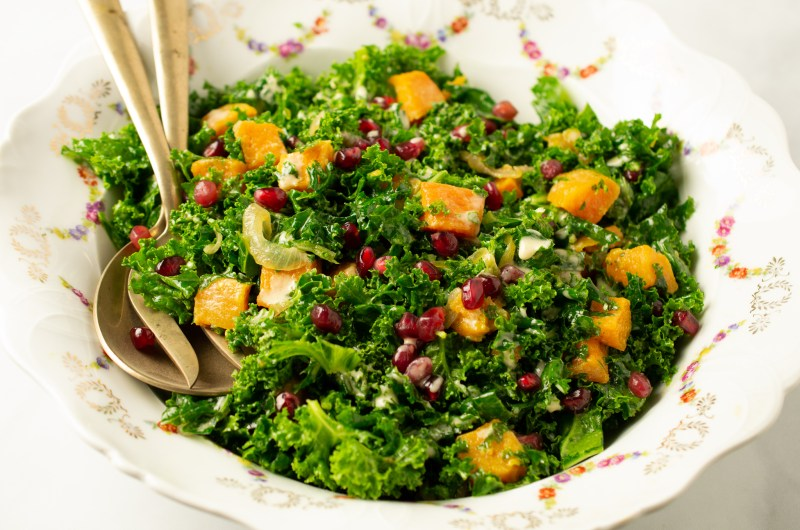 Kale Butternut Salad