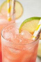 Closeup of Watermelon Limeade