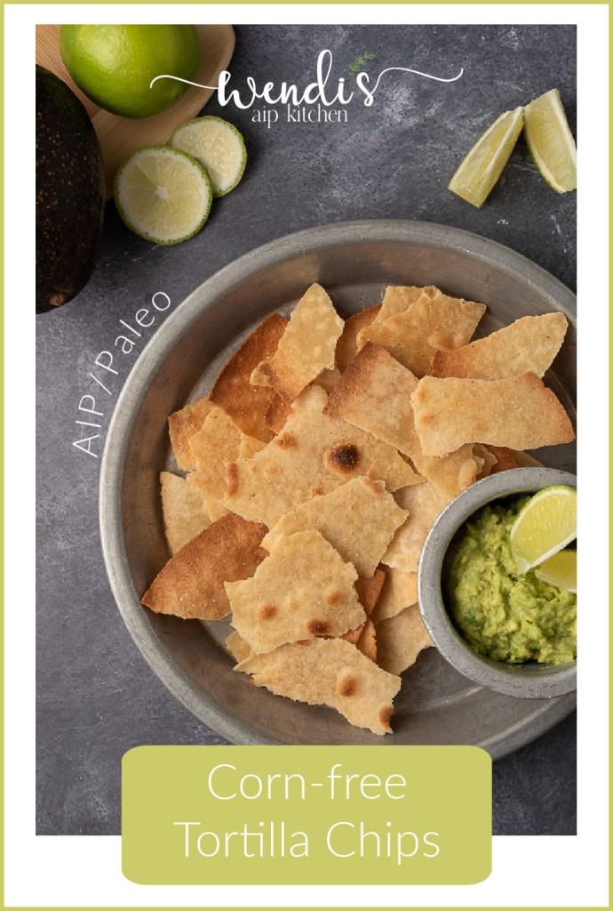 Corn-free Tortilla Chips Pinterest Pin