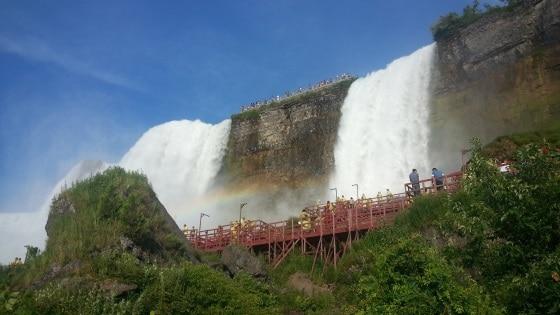 American falls cave Niagara Falls