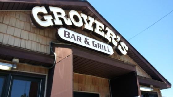grovers restaurant entrance outside Niagara Falls