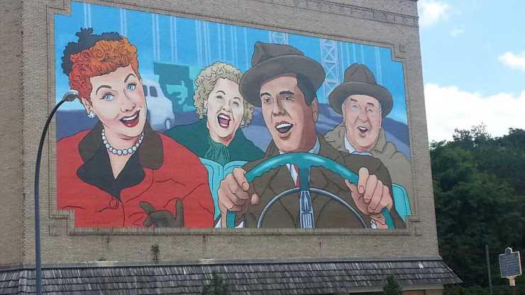 Jamestown, N.Y., Loves Lucy