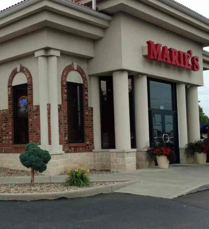 Marie's: Serves up a Tasty Pizza Pie