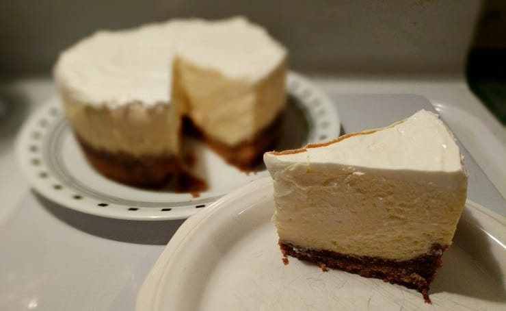 Pressure Cooker Cheesecake? Yessir!