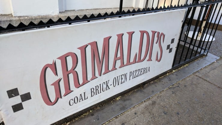 How we got Caught up in the Grimaldi's-Juliana's Pizza Feud in Brooklyn