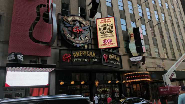 Guy Fieri's American Kitchen & Bar Goes Kaput; I might be to blame