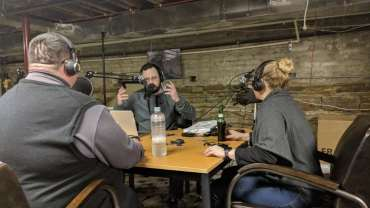 Reporters Interviewing Reporters: An Interesting Hangin' with Hoozy Podcast