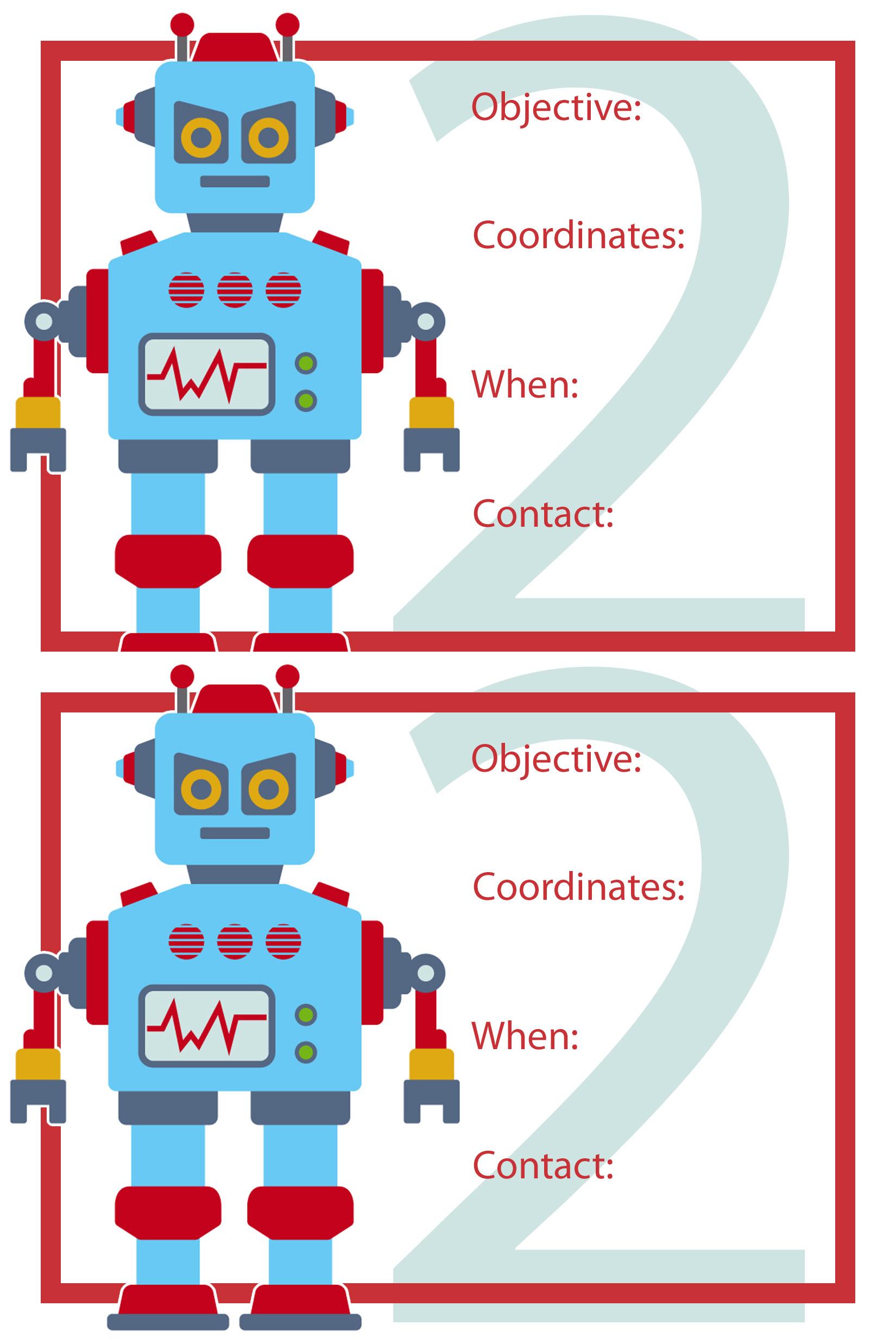 Robot Birthday Party Wendolonia