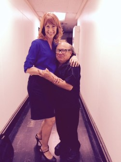 Wendy Braun + Danny DeVito in It's Always Sunny In PHiladelphia