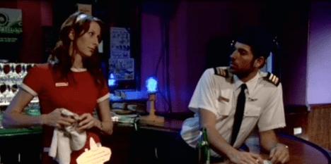 Wendy Braun + Zach Levi in Shades Of Ray