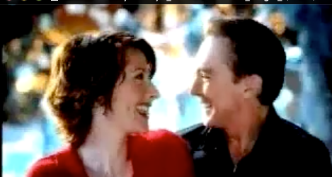 Wendy Braun +David Cassidy in Mervyn's Commercial