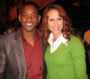 "Will Smith Directs Wendy Braun in ""All Of Us"""