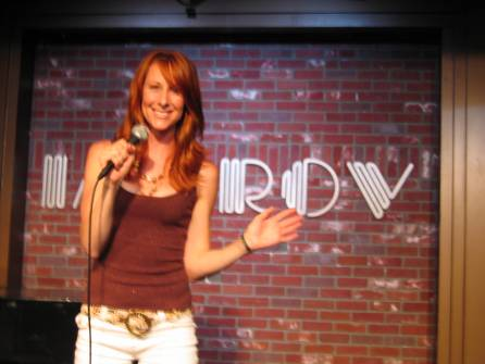 iWendy Braun performs stand-up comedy at The Improv