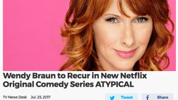Recurring on Atypical (Netflix)