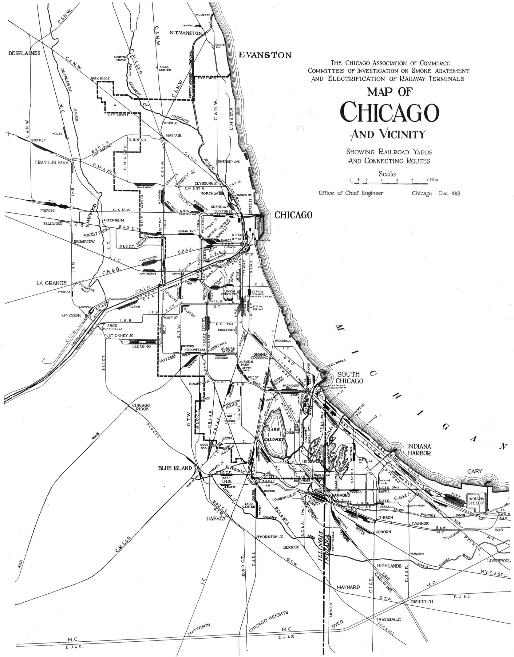 Railroads Encyclopedia Of Chicago Fact Of The Day