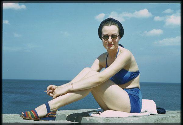Doris Irwin of American Air Lines Charles Cushman June 27, 1941