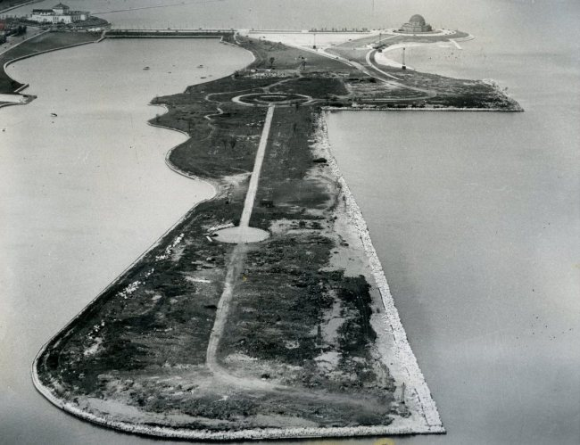 Northerly Island, three years after the Fair