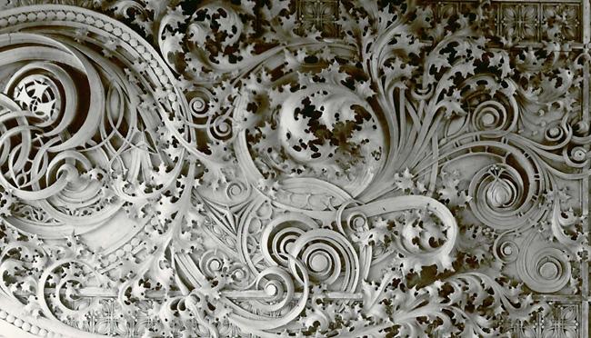 Detail, Carson Pirie Scott store, Chicago, Louis Sullivan