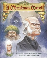 Cover of Charles Dickens: A Christmas Carol