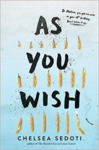 Book cover for As You Wish by Chelsea Sedoti