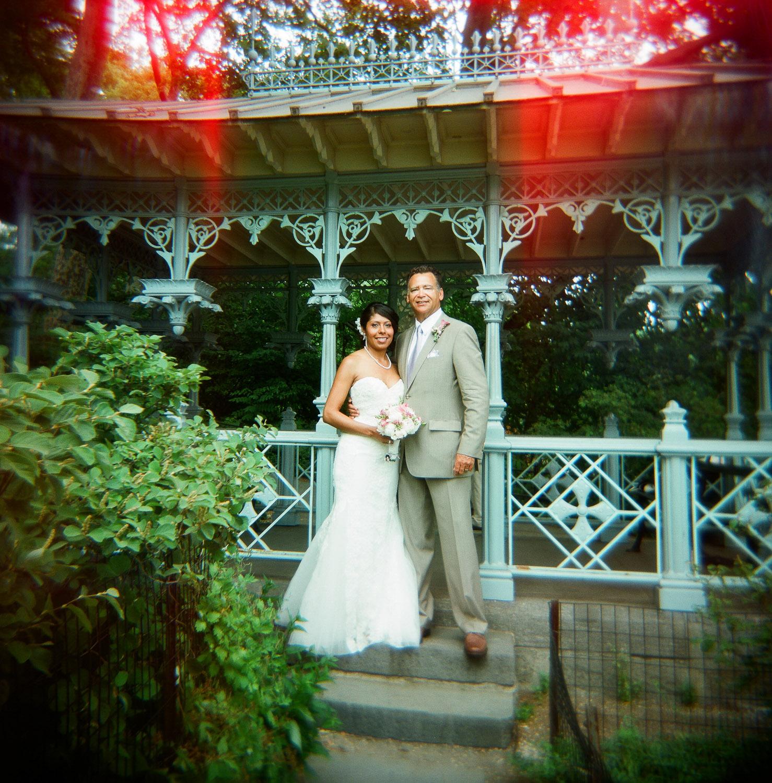 Central Park wedding film