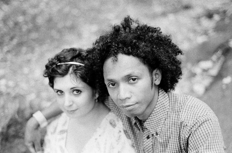 WWBM black and white photo of couple