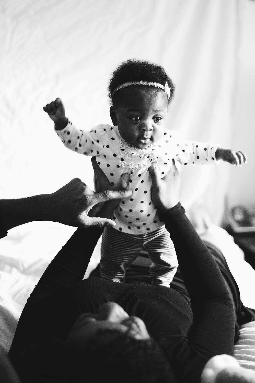 brooklyn newborn photographer baby girl