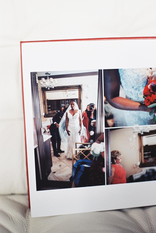 top wedding photo album by Leather Craftsmen