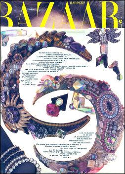 Wendy in Harpers Bazaar magazine