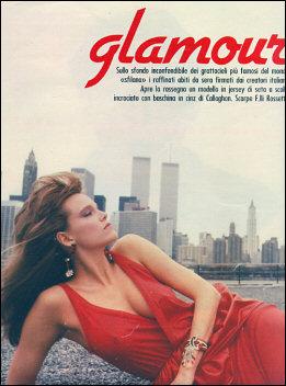 Glamour a' Manhattan, an Italian magazine