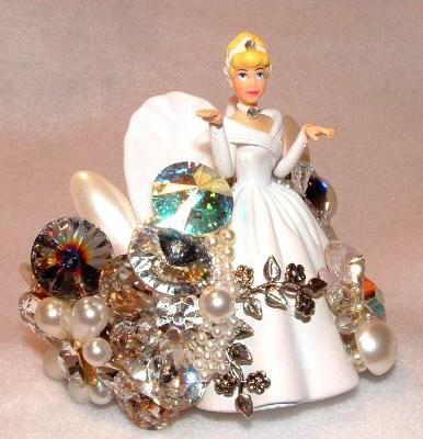 Pop Art Bride Wristy Cuff Bracelet, by renowned Fashion Jewelry Designer Wendy Gell