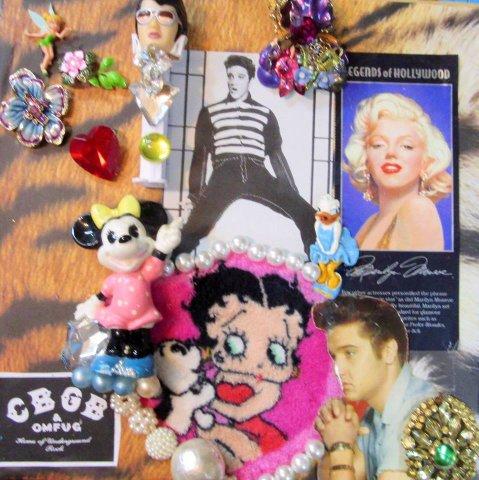 Love Me Tender , custom portrait for an Elvis fan by Wendy Gell