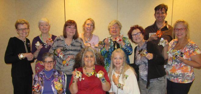 2015 CJCI jewelry making workshop participants