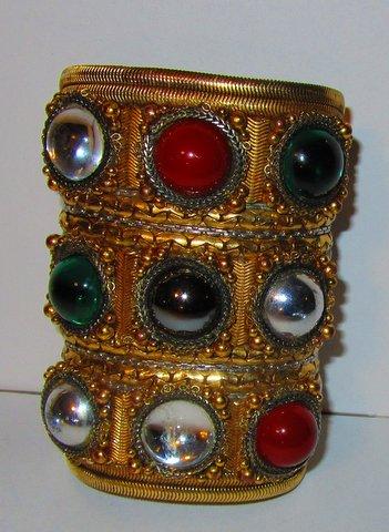 Byzantine Wristy Cuff Bracelet