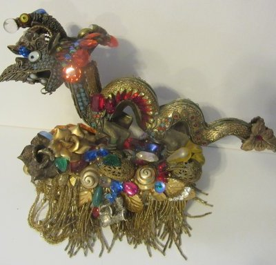 Magical Dragon Cuff from the Museum Collection of celebrated jewelry designer Wendy Gell