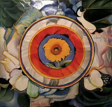 Collage Mandala by Wendy Gell