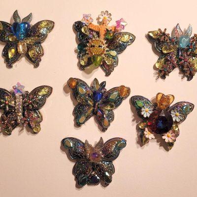 Bejeweled Butterflies