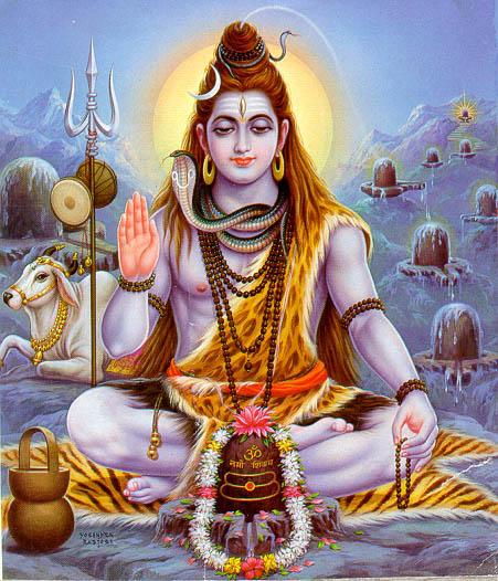 Siva, Lord of Auspiciousness - one of the Hindu trilogy, Siva (destruction), Vishnu (Preserver), Brahma (Creation)