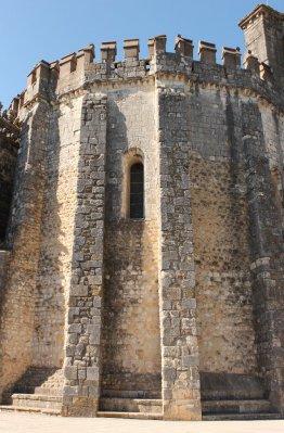Castle walls at Tomar