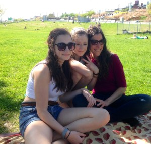 Mother's Day, 2014 - Leni, Darla and me