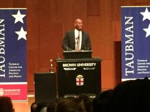 Charles Blow, John Hazen White Lecture, Brown University, September 2015