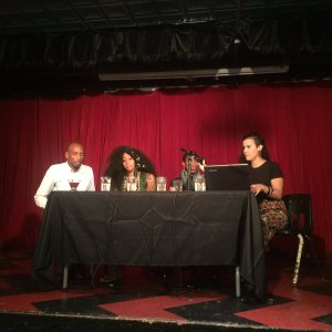 AS220 Panel: Call To Action: Marco McWilliams, Anjel Newman, Je-Shawna Wholley, Shey Rivera