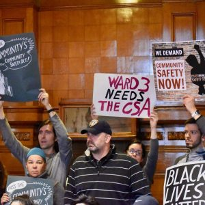 Providence City Council Meeting Community Safety Act