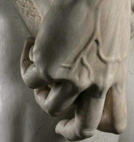 Detail of David's Hand